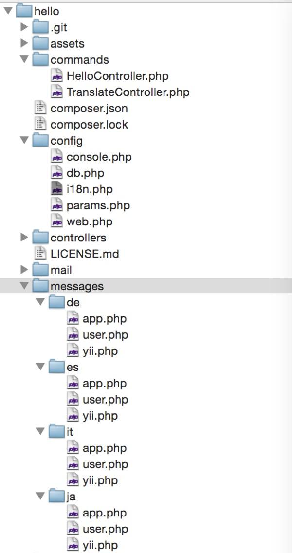 Yii2 : Tạo file message và translate message :: Co-mit Engineers Blog